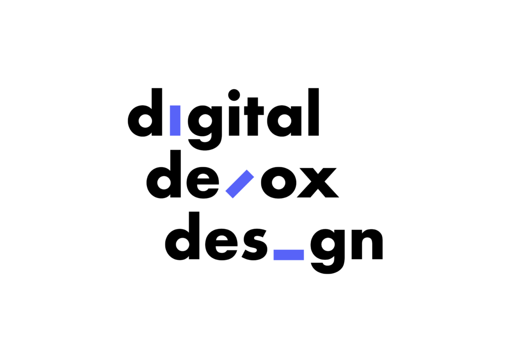 Digital Detox Design Full Logo Black